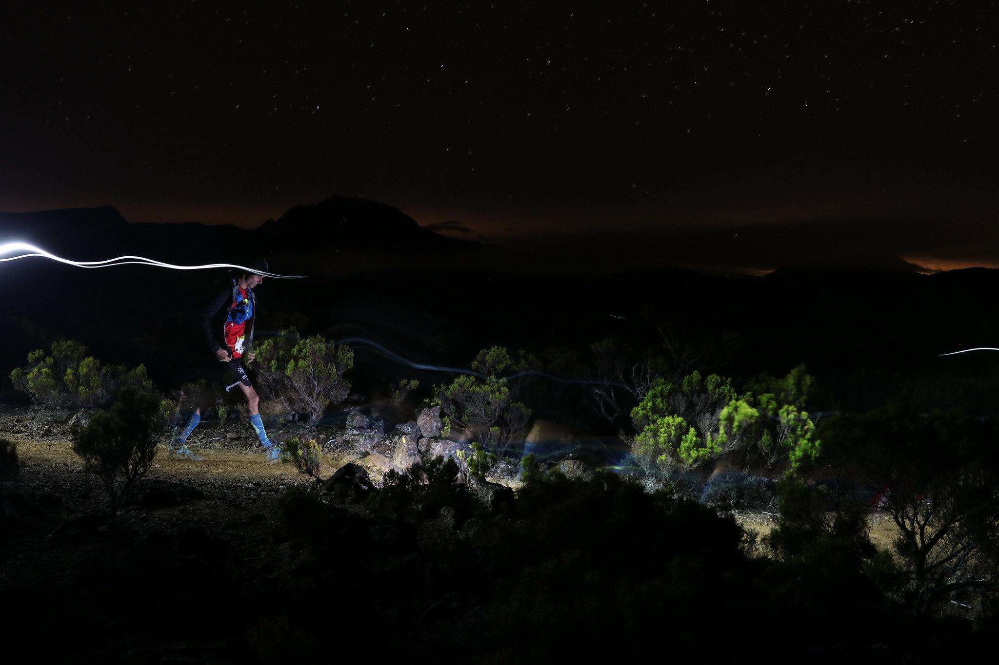 Frontale au Grand Raid de la Réunion