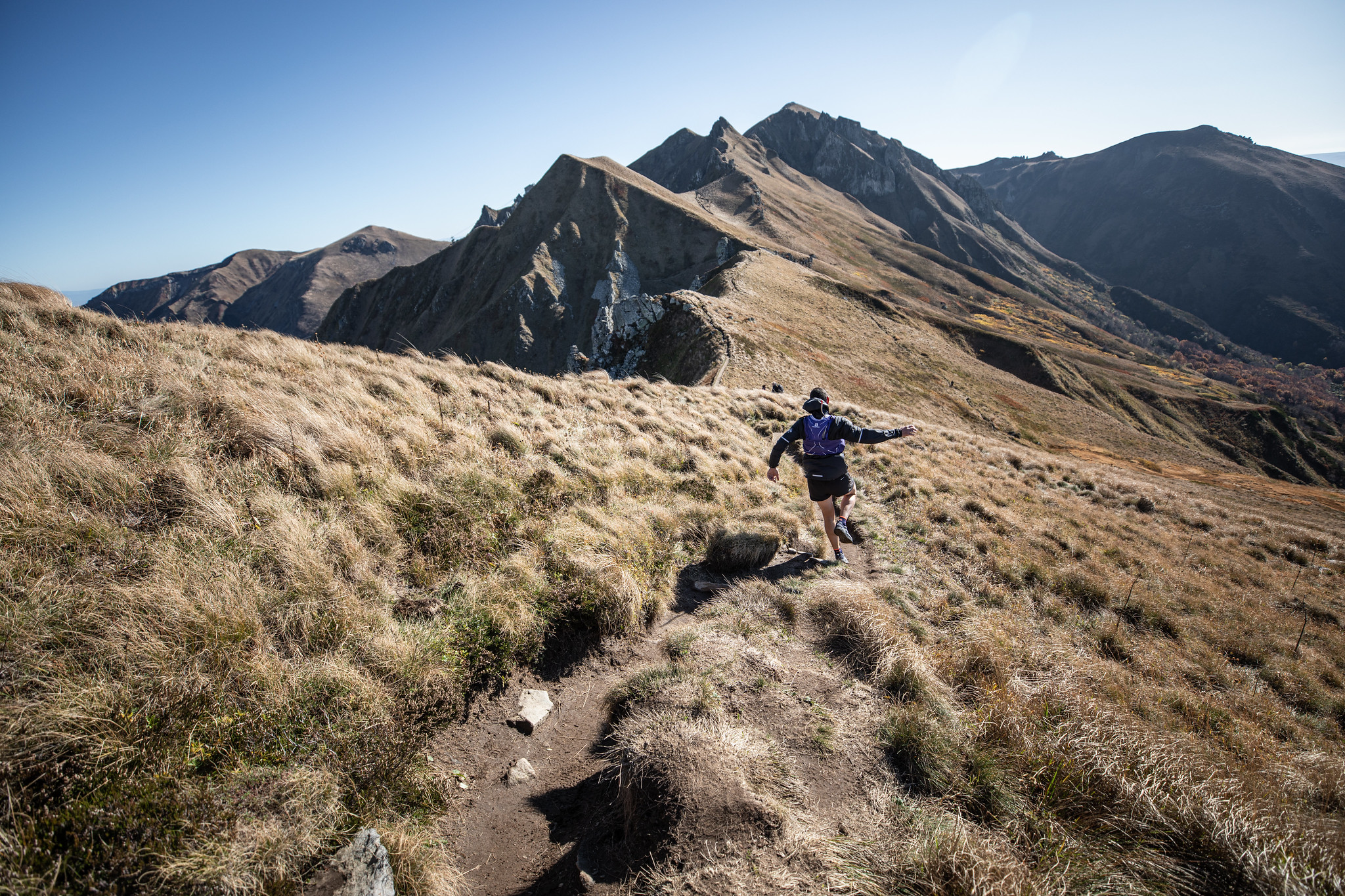 Photo de trail : puy de Sancy 2019 (c) Mickael Mussard Photographe