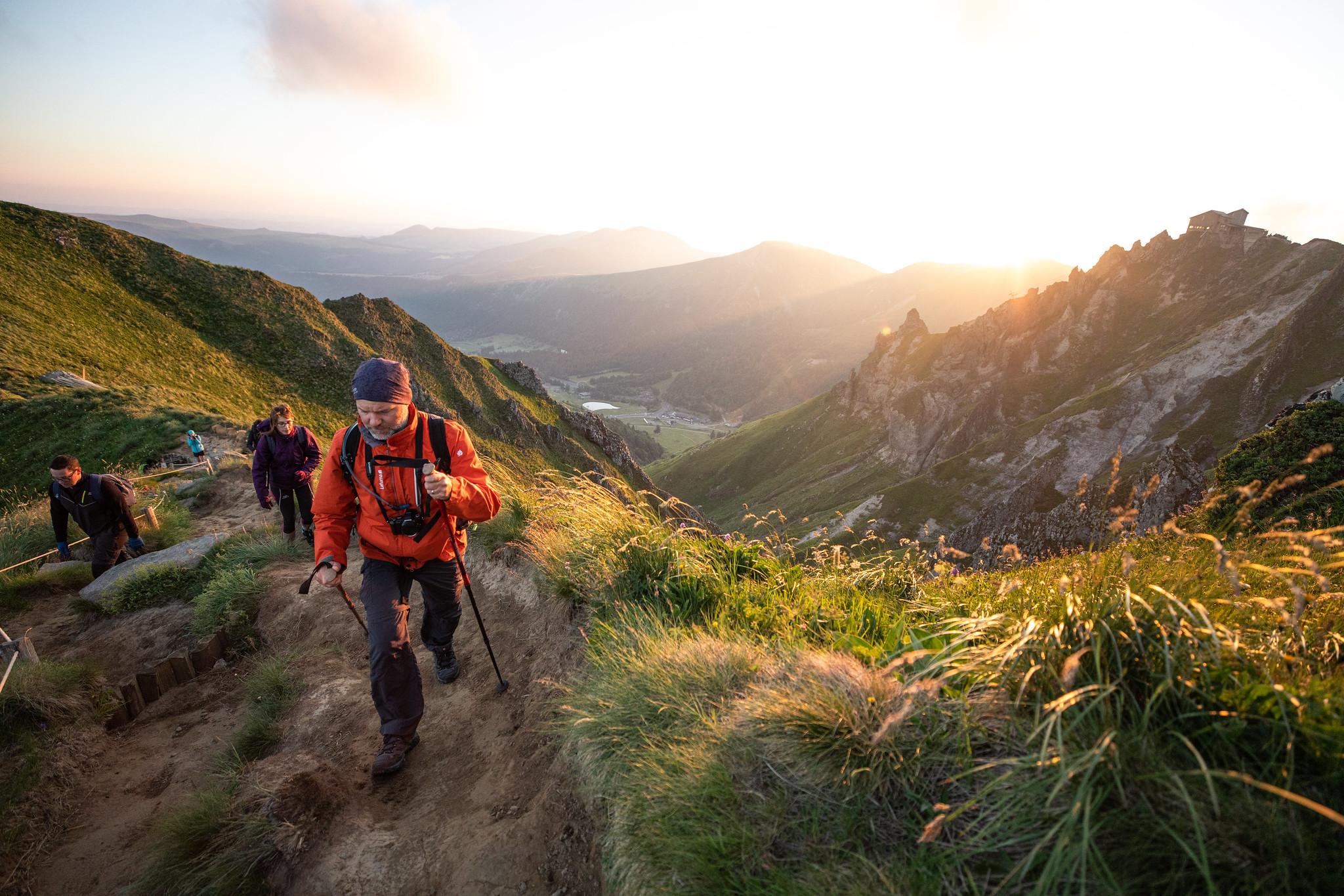 Photo de randonnée : sur les crêtes du Val de Courre (c) Mickael Mussard Photographe